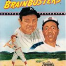 Omaha Royals Big League Brainbusters 1991 Softcover Babe Ruth Hank Aaron Cover