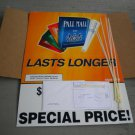 Large Pall Mall Cigs Store Sign Display Kit Corx 2011 New Unused in Box