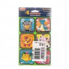 Vintage 2000 Pokemon Characters Sticker Time Stickers 6-Package Set Mint Sealed