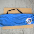Vintage 2004 Miller Lite Blue Nylon Lightweight Tote Bag With Strap New Unused