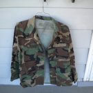 US Army Coat Hot Weather Woodland Camouflage Pattern Combat Medium Regular