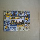 Vintage 1995 Upper Deck Salutes The St. Louis Rams Limited Edition Card Sheet