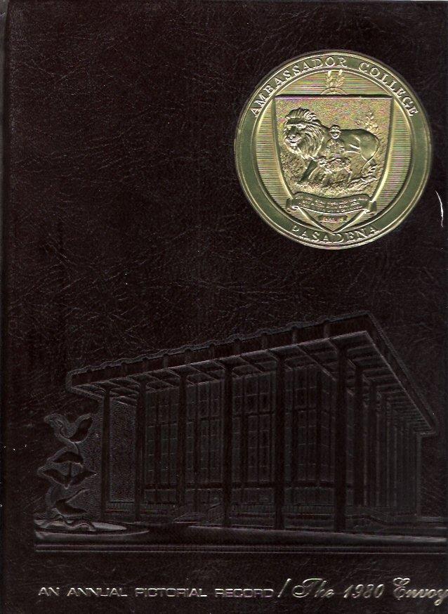 1980 Ambassador College Envoy Yearbook Pasadena, CA Herbert W. Armstrong