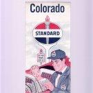 Vintage 1957 Standard Oil Colorado Road & Travel Map
