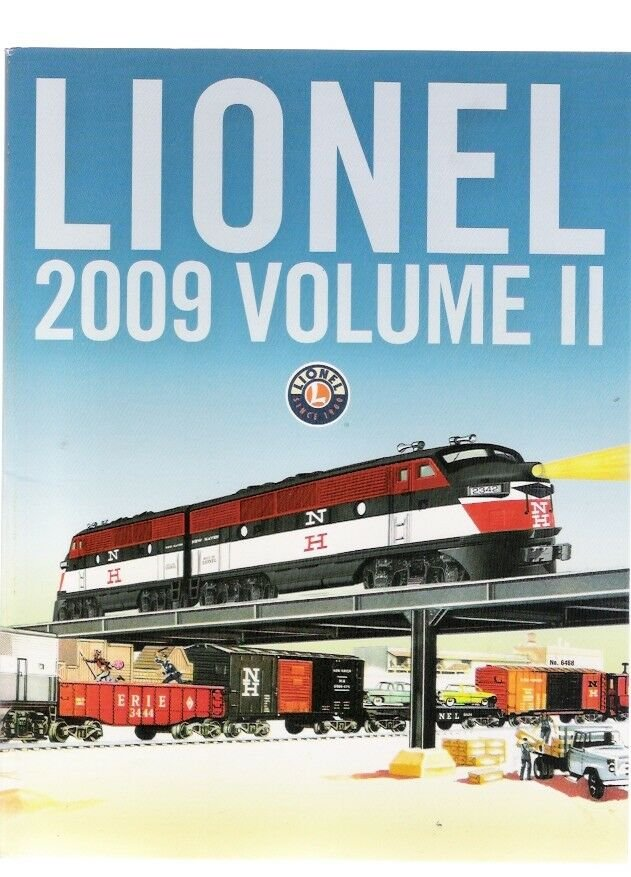 Lionel Train Catalog 2009 Volume II New Old Store Stock Christmas 2009