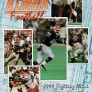 Vintage 1999 Fighting Illini University Illinois Football Orange & Blue Yearbook