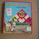 Vintage Pachessie Board Game of India Warren Built-Rite 1950s Complete in Box