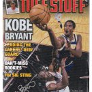Kobe Bryant LA Lakers Tuff Stuff Magazine April 1998 Still Sealed in Poly Bag