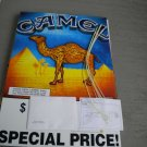 Large Camel Cigarettes Store Sign Display Kit Cam Core 2012 New Unused in Box