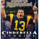 Sports Illustrated Kurt Warner Rams 2000 Cinderella Stories Special Edition New