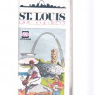 Vintage 1987 St. Louis Missouri and Vicinity Large AAA Road & Travel Map