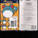 Vintage 2000 Pokemon Marill Stickers 6-Pack Wholesale 12 Sheets New Sealed