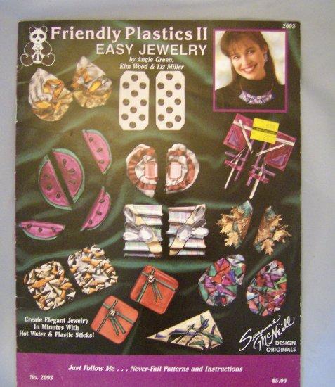 Friendly Plastics II Easy Jewelry Booklet Design Originals No. 2093
