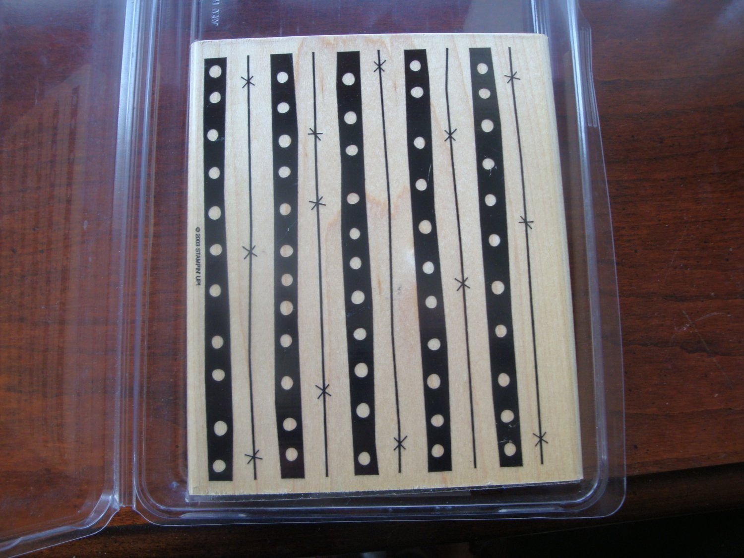 Groovy Lines Stampin' Up! Retired Stamp NEW