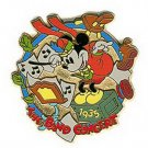 Disney Mickey Mouse Bandleader dated 1935 Pin/Pins