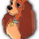 Disney Lady and the Tramp - Lady's Face pro Pin/Pins