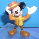 Disney  Mickey Mouse Bob Cratchit Clerk Mickey's Christmas Carol cake topper pvc