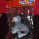 Disney Eeyore  from Winnie the Pooh  Figurine  key chain made of PVC Mint