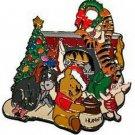 Winnie, Tigger, Eeyore, Piglet Authentic Disney WDW Pin
