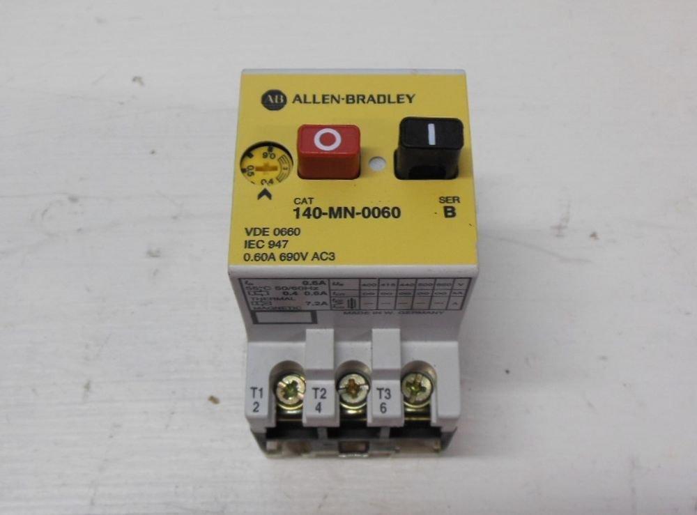 Allen Bradley 140 Mn 0060 Manual Motor Starter 0 4 0 6