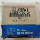 Potter & Brumfield CGB-38-70010M Timing Relay 1 to 10 Min. 10 Amp  120 VAC CGB38