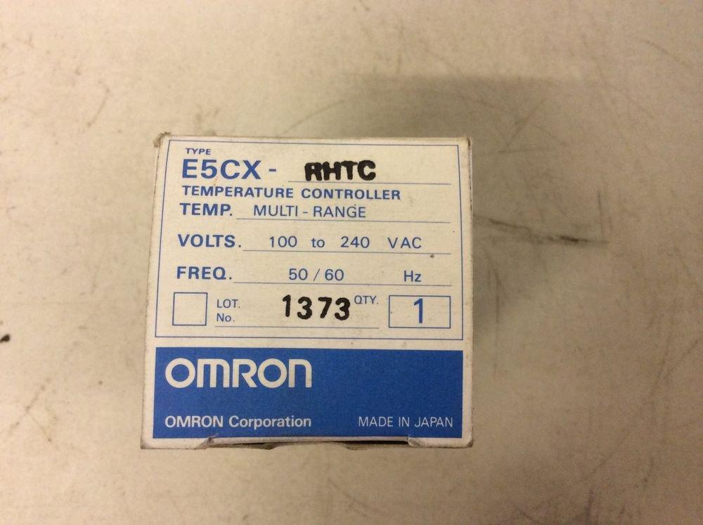 Omron e5cx user Manual on