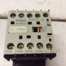 Entrelec Schiele KHDCS-40 24 VDC 4 Normally Open Contact Relay KHDCS40 10 Amp
