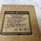GE General Electric CR4G1WJ 2.5-4 Amp Overload Relay New