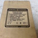 GE General Electric CR4G1WK 3.8-6 Amp Overload Relay New