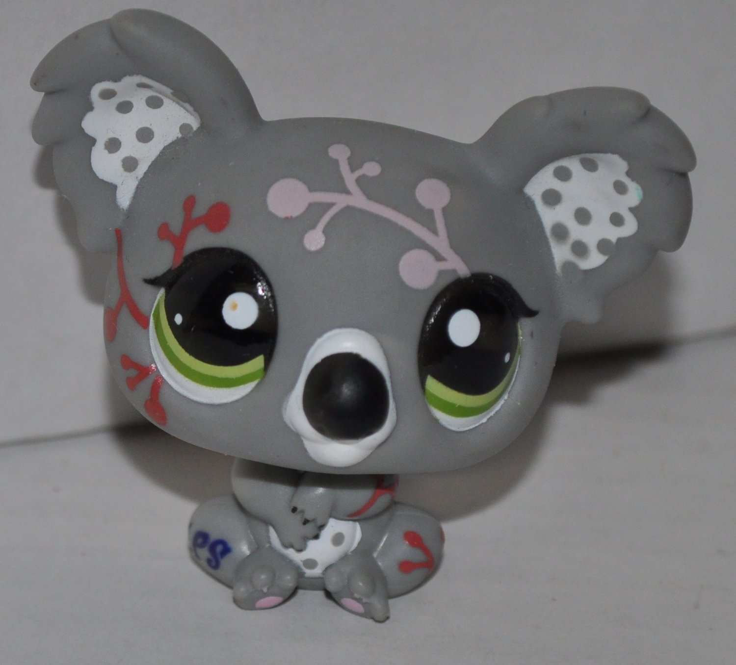 Koala Bear #1837 Littlest Pet Shop (Retired) Collector Toy - LPS Collectible Figure - Loose
