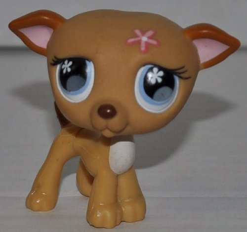 Greyhound #498 Littlest Pet Shop Retired Collector Toy LPS Collectible Replacement Figure Loose