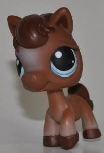 Horse #337 Littlest Pet Shop Retired Collector Toy  LPS Collectible Figure Loose OOP