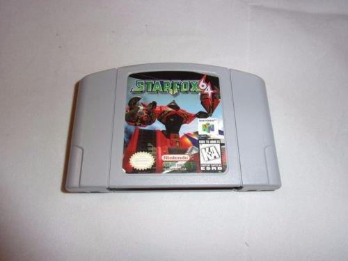 STAR FOX 64 Nintendo 64 N64 Game