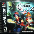 Chrono Cross for Sony PlayStation 1 PS1 PSX complete Black Label