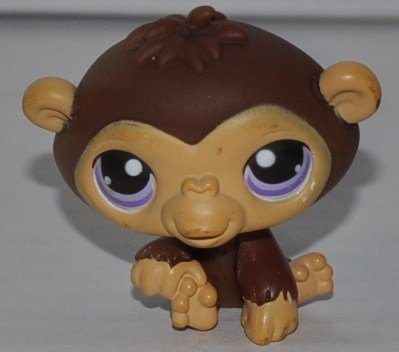 Chimpanzee #359 Littlest Pet Shop Collector Toy LPS Collectible Replacement Figure Loose