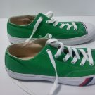 GREEN CANVAS PRO KEDS ROYAL 1949 VINTAGE MADE IN VIETNAM SIZE 14 MEN ST PATRICKS