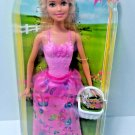 EASTER PRINCESS BARBIE DOLL WITH BUNNY BASKET MATTEL 2015
