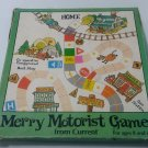 Merry Motorist Board Game 1981 Current Inc vintage