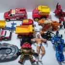 BOY TOY ACTION FIGURE IMAGINEXT FISHER PRICE CAR TRUCK LOT