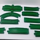 FISHER PRICE GEOTRAX GREEN RISER TRACKS TRAIN ACCESSORIES REPLACEMENT PIECES