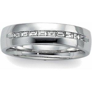 14kt White Gold Men's Ring