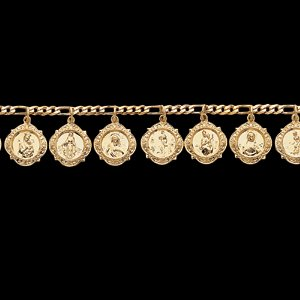 14kt Yellow Gold Heavenly Friends Bracelet
