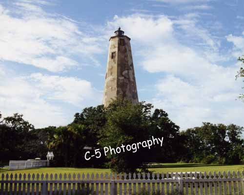 Old Baldy Lighthouse (Baldy 001) - 8 x 10 Matted Photograph