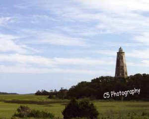 Old Baldy Lighthouse (Baldy 004) - 8 x 10 Matted Photograph