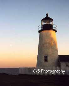 Pemaquid Lighthouse Maine (Pemaquid (001) - 8 x 10 Matted Photograph