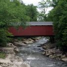 Covered Bridge McConnells Mill (Bridge 01g) 8 x 10 Matted Photograph