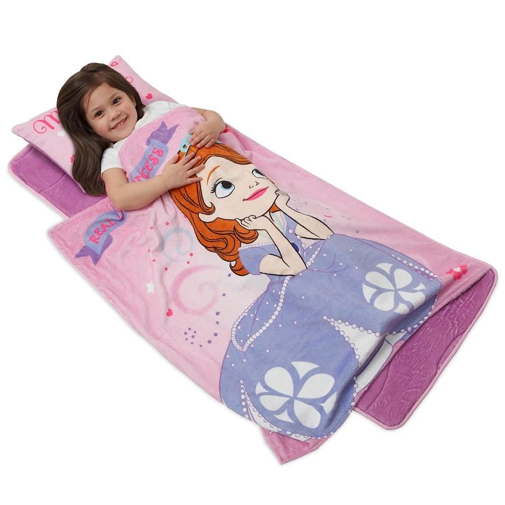 Sofia Princess Deluxe Memory Foam Nap Mat Set Daycare