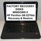 HP Pavilion G6-2270dx > FACTORY RECOVERY RESTORE DISC SET