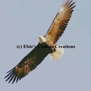 Eagle 1 - PDF Cross Stitch Pattern