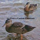 Ducks 1 - PDF Cross Stitch Pattern